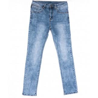 2047 New jeans джинсы мужские с царапками синие весенние стрейчевые (29-38, 8 ед.) New Jeans: артикул 1103715