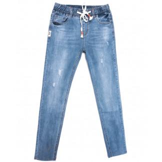 2040 New jeans джинсы мужские с рванкой синие весенние стрейчевые (29-38, 8 ед.) New Jeans: артикул 1103725