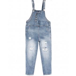 3636 New jeans комбинезон синий весенний коттоновый (25-30, 6 ед.) New Jeans: артикул 1103736