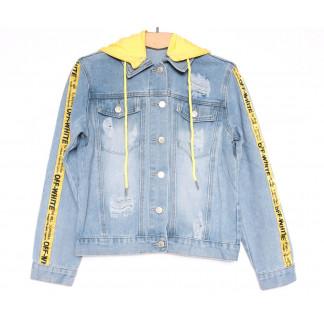 0813 New jeans куртка джинсовая женская синяя весенняя коттоновая (ХS-XXL, 6 ед.) New Jeans: артикул 1103738