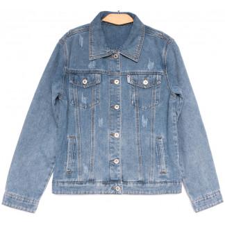 0809 New jeans куртка джинсовая женская синяя весенняя коттоновая (S-XXL, 6 ед.) New Jeans: артикул 1103740