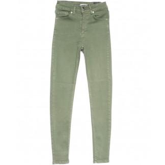 1489 Haki Its Basic джинсы женские зауженные хаки весенние стрейчевые (25-30, 6 ед.) Its Basic: артикул 1103762
