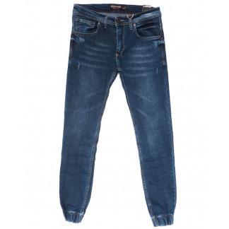 6211 Redcode джинсы мужские молодежные на резинке синие весенние стрейчевые (29-36, 8 ед.) Redcode: артикул 1103790