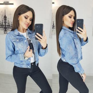 Куртка джинсовая с царапками New jeans 0804 New Jeans: артикул 1103993