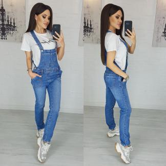 2933-1 Xray комбинезон джинсовый женский весенний котоновый (27,28,29,30, 4 ед.) XRAY: артикул 1103852