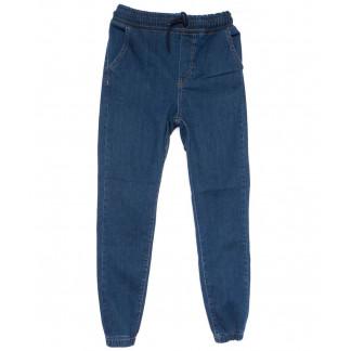 0404 Groff джинсы женские на резинке синие весенние стрейчевые (27-32, 7 ед.) Groff: артикул 1103825