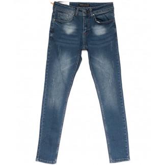 0697 Diego Milito джинсы мужские с царапками синие весенние стрейчевые (29-36, 7 ед.) Diego Milito: артикул 1103916
