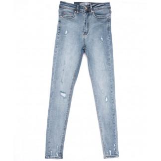 15010 Sasha джинсы женские зауженные синие весенние стрейчевые (26-31, 8 ед.) Sasha: артикул 1103930