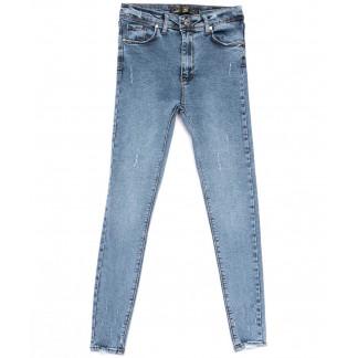 5010 777Plus джинсы женские зауженные синие весенние стрейчевые (34-42,евро, 8 ед.) 777Plus: артикул 1103933
