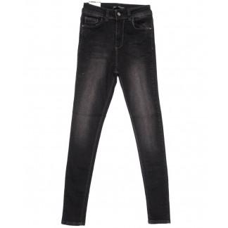 0602 Hepeyek джинсы женские зауженные черные весенние стрейчевые (26-31, 8 ед.) Hepyek: артикул 1103975