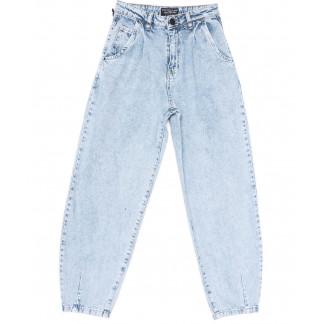 9726 Poshum джинсы-баллон синие весенние коттоновые (25-30, 6 ед.) Poshum: артикул 1104006