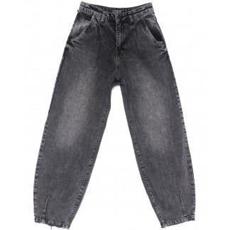 9727-1 Poshum джинсы-баллон серые весенние коттоновые (25-30, 6 ед.) Poshum: артикул 1104008