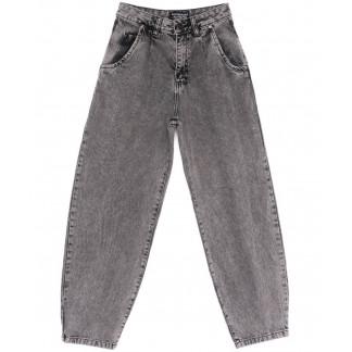9750-2 Poshum джинсы-баллон серые весенние коттоновые (25-30, 6 ед.) Poshum: артикул 1104009