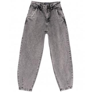 9750 Poshum джинсы-баллон серые весенние коттоновые (25-30, 6 ед.) Poshum: артикул 1104010