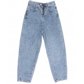 9748-2 Poshum джинсы-баллон синие весенние коттоновые (25-30, 6 ед.) Poshum: артикул 1104012