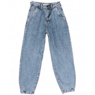 9749 Poshum джинсы-баллон синие весенние коттоновые (25-30, 6 ед.) Poshum: артикул 1104013