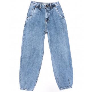 9749-1 Poshum джинсы-баллон синие весенние коттоновые (25-30, 6 ед.) Poshum: артикул 1104014