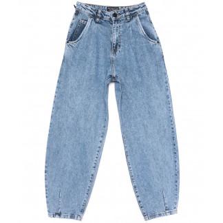 9726 Poshum джинсы-баллон синие весенние коттоновые (25-30, 6 ед.) Poshum: артикул 1104015