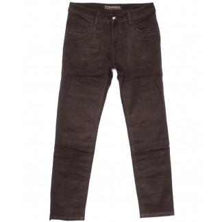 4045 Fangsida джинсы мужские коричневые весенние стрейчевые (31-38, 8 ед.) Fangsida: артикул 1104032
