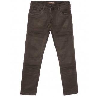 4058 Fangsida джинсы мужские полубатальные коричневые весенние стрейчевые (32-38, 8 ед.) Fangsida: артикул 1104033