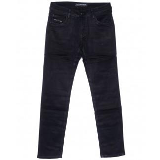 4051 Fangsida джинсы мужские полубатальные темно-синие весенние стрейчевые (32-38, 8 ед.) Fangsida: артикул 1104036