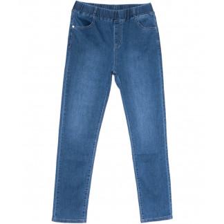 1153 Sunbird джинсы женские батальные на резинке синие весенние стрейчевые (30-37, 6 ед.) Sunbird: артикул 1104067
