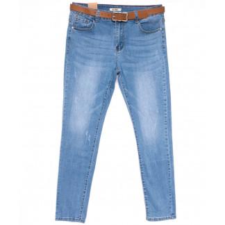8297 M.Sara джинсы женские батальные синие весенние стрейчевые (30-36, 8 ед.) M.Sara: артикул 1104077