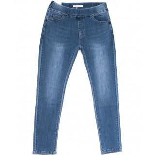 8317-1 Miss Curry джинсы женские батальные на резинке синие весенние стрейчевые (30-36, 6 ед.) Miss Curry: артикул 1104081