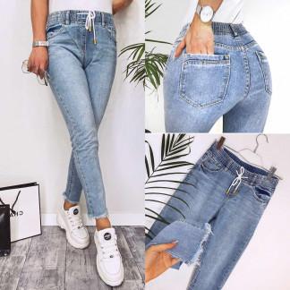 3631 New jeans мом синий весенний коттоновый (25-30, 6 ед.) New Jeans: артикул 110339411