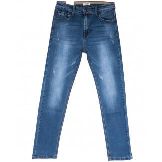 1570 M.Sara джинсы мужские с царапками синие весенние стрейчевые (29-36, 6 ед.) M.Sara: артикул 1104212