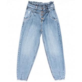 5464 Sessanta джинсы-баллон синие весенние коттоновые (25-30, 6 ед.) Sessanta: артикул 1104288