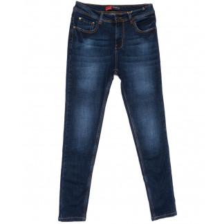 5501-5 А Relucky джинсы женские полубатальные синие весенние стрейчевые (28-33, 6 ед.) Relucky: артикул 1104319