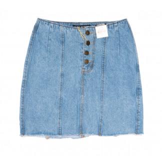 9940-2 V Relucky юбка джинсовая синяя весенняя коттоновая (25-30, 6 ед.)  Relucky: артикул 1104353