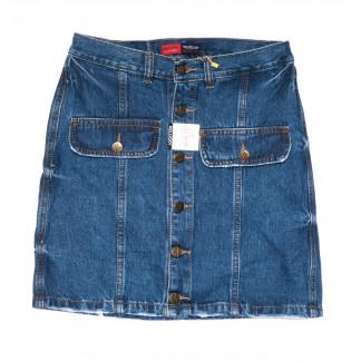 9905-5 V Relucky юбка джинсовая синяя весенняя коттоновая (25-30, 6 ед.)  Relucky: артикул 1104354