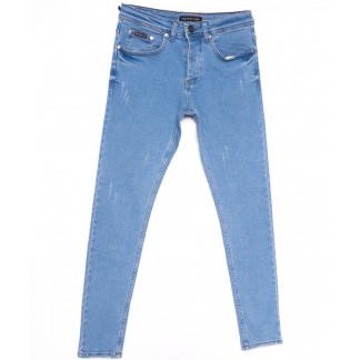 0352 Redmoon джинсы мужские с царапками синие весенние стрейчевые (29-36, 7 ед.) REDMOON: артикул 1104409