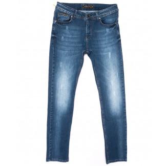 0733 Redmoon джинсы мужские с царапками синие весенние стрейчевые (30-36, 6 ед.) REDMOON: артикул 1104420