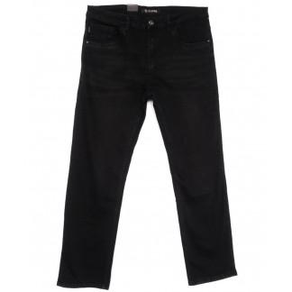 1076-ТD LS джинсы мужские полубатальные черные весенние стрейчевые (32-42, 8 ед.) LS: артикул 1104458