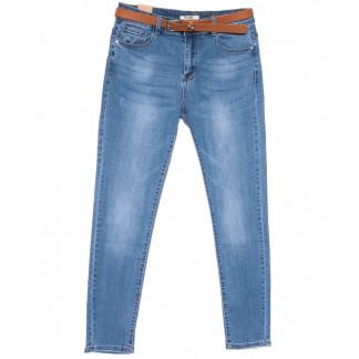 8292 M.Sаra джинсы женские батальные синие весенние стрейчевые (30-36, 6 ед.) M.Sara: артикул 1104493