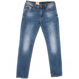 2221 Fang джинсы мужские полубатальные синие весенние стрейчевые (32-40, 8 ед.) Fang: артикул 1104514