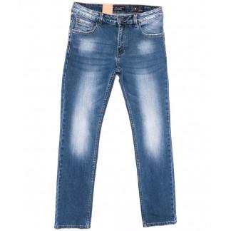 2211 Fang джинсы мужские полубатальные синие весенние стрейчевые (32-42, 8 ед.) Fang: артикул 1104516