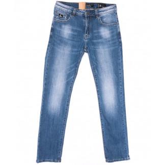 2225 Fang джинсы мужские полубатальные синие весенние стрейчевые (32-40, 8 ед.) Fang: артикул 1104517