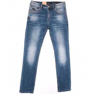 2220 Fang джинсы мужские синие весенние стрейчевые (30-38, 8 ед.) Fang: артикул 1104519