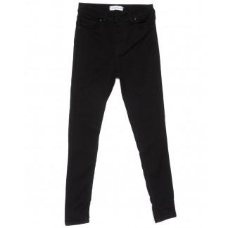 12176 Denim Fashion американка батальная черная весенняя стрейчевая (30-36, 6 ед.) Denim Fashion: артикул 1104707