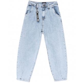 2256-704 Angelina Mara джинсы-баллон синие весенние стрейчевые (25-30, 6 ед.) Angelina Mara: артикул 1104727