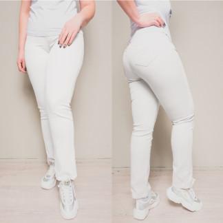 9760-03 (B) белые Sunbird джинсы женские батальные летние стрейчевые (30,31,34,35,35,37,38, 7 ед.) Sunbird: артикул 1107090