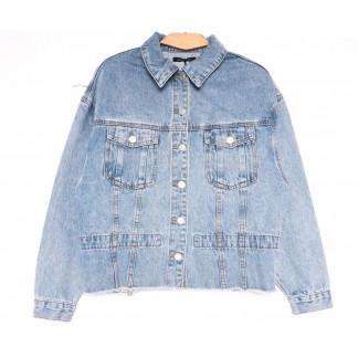9096 Saint Wish куртка джинсовая женская синяя весенняя коттоновая (ХS-XL, 5 ед.) Saint Wish: артикул 1104865