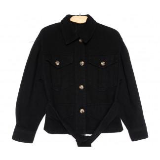 9067-1 Saint Wish куртка джинсовая женская черная весенняя коттоновая (ХS-XL, 5 ед.) Saint Wish: артикул 1104874