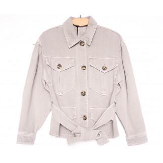 9067-8 Saint Wish куртка джинсовая женская серая весенняя коттоновая (ХS-XL, 5 ед.) Saint Wish: артикул 1104875