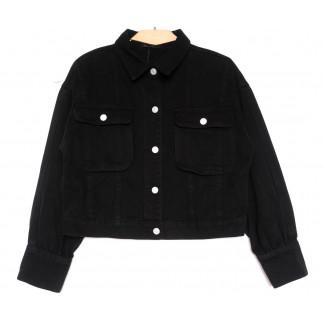 9104-1 Saint Wish куртка джинсовая черная весенняя коттоновая (ХS-XL, 5 ед.) Saint Wish: артикул 1104876
