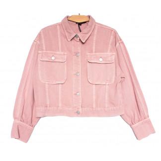 9104-3 Saint Wish куртка джинсовая женская розовая весенняя коттоновая (ХS-XL, 5 ед.) Saint Wish: артикул 1104869